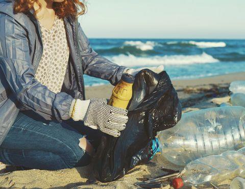 plage et mer propre