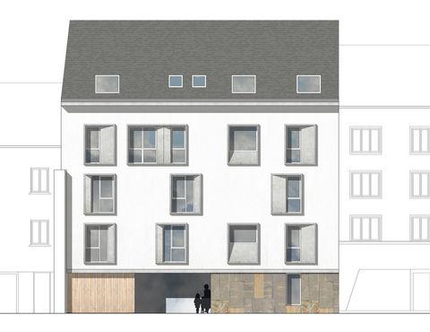 Construction de 8 logements collectifs rue Tour Carrée